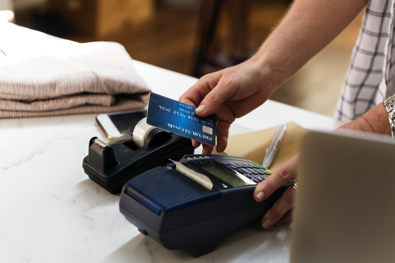 using credit card payment